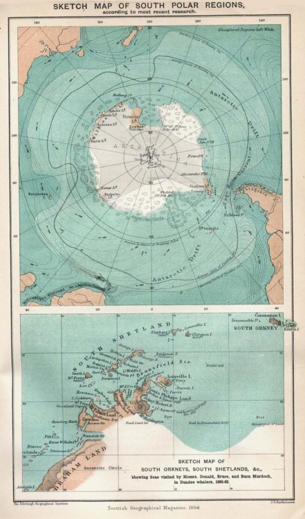 South Pole, 1894  invisiblestories