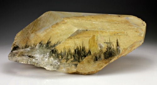 Quartz with Tourmaline inclusions from Russia