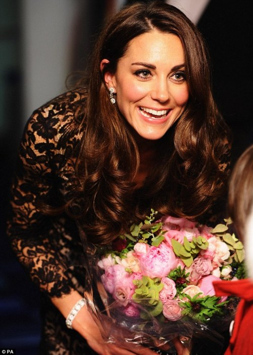 The Duchess of Cambridge attends the UK premiere of the film 'War Horse' in London. Also, a very happy 30th birthday to Catherine, Duchess of Cambridge!