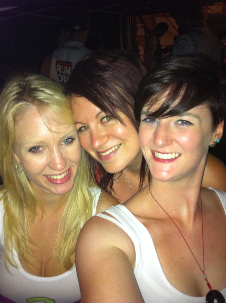 Me and two of my favourite ladies!