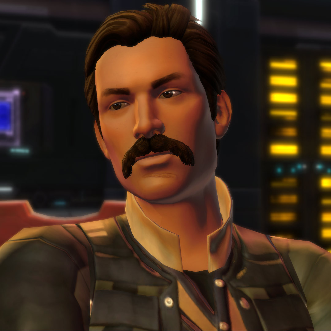 Behold! Farouk and his stache (will post the others if/when I get a screenshot I like)