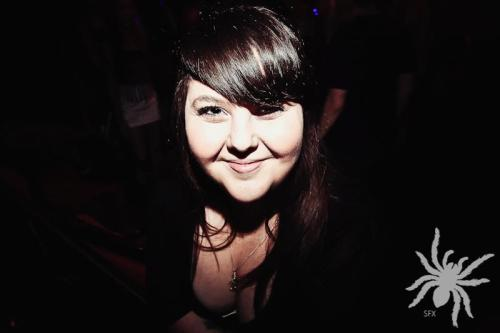 Me looking vampire-ish at SFX Sydney on Saturday 7th January 2012 :)