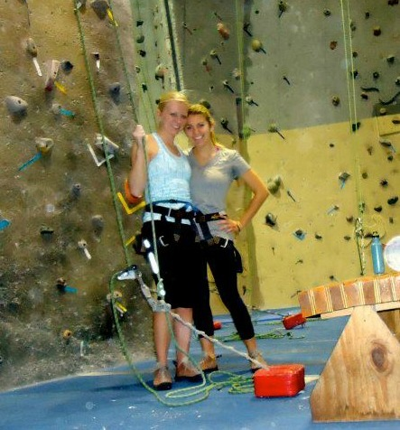 This weekend, I went rock climbing with one of my best friends, Krista. Reflecting on our climbing experience, many truths came to light: the importance of patience, perseverance and trust. In rock climbing, these characteristics helped us make it to the top of the rock each time. In life, these characteristics are crucial in building solid relationships with each other. I'm grateful that we started off 2012 with a climb—a visual reminder to trust ourselves and others, to move forward tenaciously and to  plan our paths with faithful steps. It's a new year, with new beginnings and a fresh start of each of us.