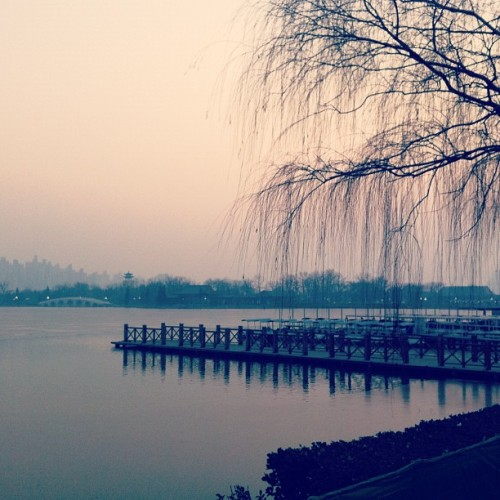 水上公園 #china #scenery #beautiful #sunset #dusk #Tianjin #park #igaddict #iphoneography #iphone4 #instagramhub #igdaily  (Taken with instagram)