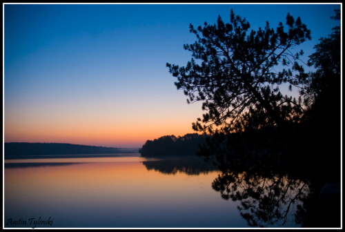 The Middle Eau Clair Lake near Hayward Wisconsin. The beauty of the sunrises makes it my favorite place on earth right now.