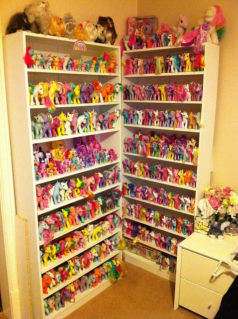 My Little Ponies hillarybuckholtz:  Image via Flickr / evererenoughtoys2011011