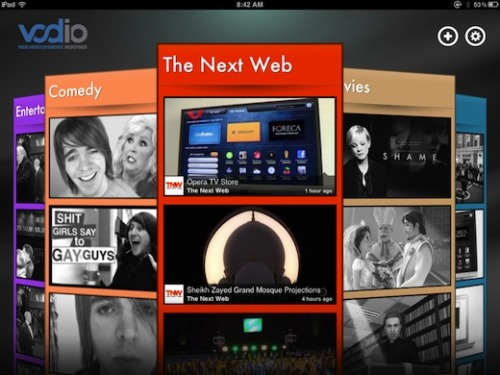 thenextweb:  Vodio is a brand new, free iPad app that aims to make your video-watching experience a little bit more personal. (via Vodio is Flipboard for Videos)  We should check this out… Does it have potential for customized news content. Let's see if anyone downloads this before the first class and can review it for all of us.