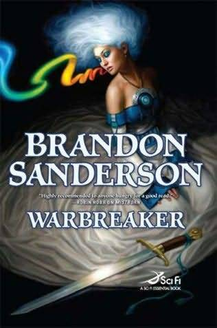 Warbreaker by Brandon Sanderson This book has redeemed my love for Sci-fi.  Brandon Sanderson uses his words to paint once again an amazing world like our own but completely different to allow me to escape too.  The characters are fully flushed without making me wonder what happened here and why didn't he go deeper there.  This is the fourth book that I have read by this author and by far my favorite (the first 3 being the Mistborn trilogy)   The story is about two kingdoms on the brink of war.  Hallandren and Idris one a new world with living gods and one old who worship the god Austere which is more of a spiritual god. There are multiple characters in the story and the point of view switches between them but its done so smoothly that its hardly noticeable.  The two main characters are sisters Siri and Vivenna they close but so different in the way they present themselves its interesting to see the way they evolve through the worlds they travel.  I know that this is not a whole lot to go off on but I don't want to delve too far into the story line and give things away, but if you are fan of Sci-fi/fantasy,  where gods roam among the normal people, where your breath can bring inanimate objects to life, and where two sisters fight the odds to help there kingdom then this book is for you.    I give this book a 4/5 the start is slow but the end is well worth it!