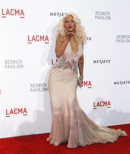 Christina Aguilera slammed those who say she's put on too much weight.
