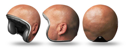 laughingsquid:  Helmet Experiments by Igor Mitin  Imagine someone wearing that while riding their bike around town