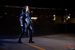 Female Commander Shepard - Leah Nelson