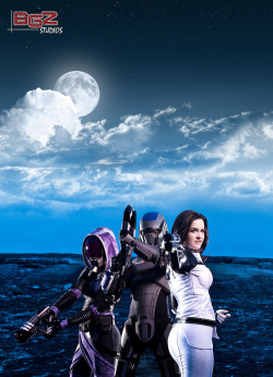 Mass Effect Group Shot