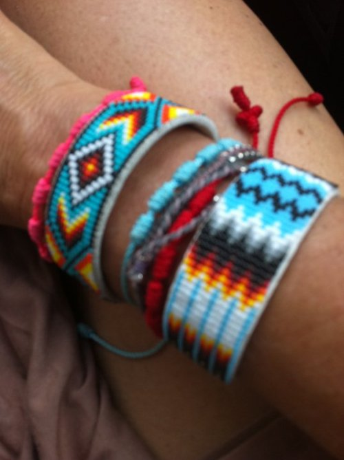Already preparing for Spring! new Decenario + Harpo bracelets  xoxo, love from Salamanca
