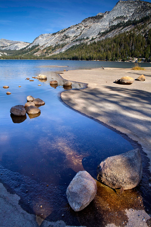 smithsonianmag:  Tenaya Lake Shoreline Photograph by Rob Laskin (Santa Barbara, California), October 2009, Yosemite, California