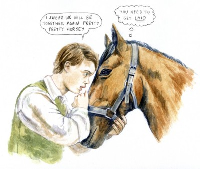 bobbyfinger:  Oh hi, this is beautiful. (via War Horse: An Illustrated Review | The Hairpin)