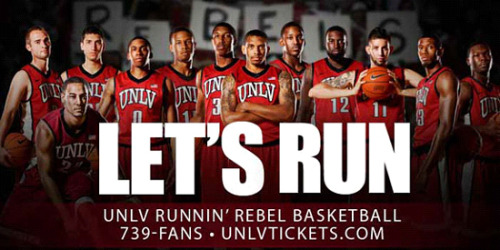UNLV Runnin' Rebels ranked 12th in the nation in ESPN/USA Today Coaches Poll! The team takes its seven-game win streak to San Diego this weekend. What are your predictions for the final score? Read more