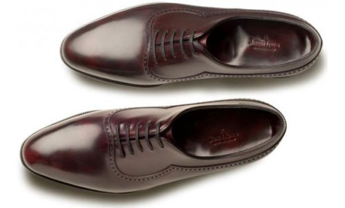 John Lobb Rothleys. I'm a sucker for Almond Toe lasts.  And galosh style shoes (G&G Warwick) have been growing on me.
