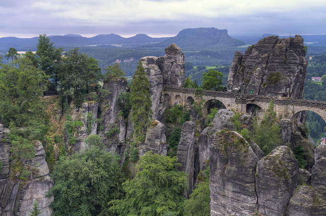 travelthisworld:  Bastei Rock Formation, Saxony, Germany