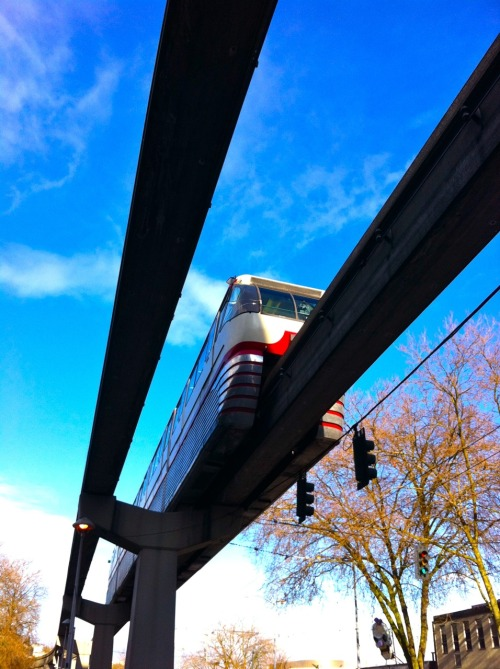 Seattle Monorail. Photo by Megan Ching.