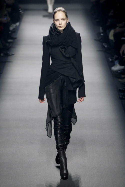 sinolia:  Haider Ackermann, Fall 2008