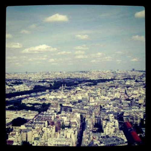 Erixsson #view #eiffel #tower #paris #france  (Taken with instagram)