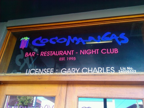 Surprise! surprise! Found the other branch of Cocomangas in Byron Bay! I wonder if they sell 15 crazy shots too, i guess that would cost heaps, hey!