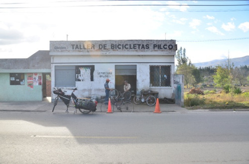 bicycle shop Riobamba Ecuador