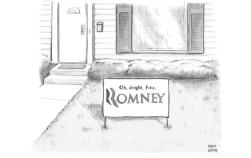 newyorker:  A Mitt Romney cartoon of the day. For more cartoons from this week's issue: http://nyr.kr/vSHypG