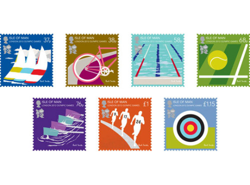 Paul Smith designed Postage StampsHeritage feel for the London Olympics