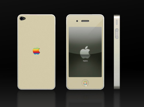 For all you Apple lovers…A Retro look for the new iPhone…