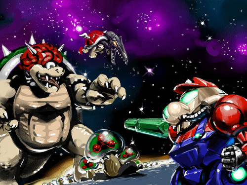 koldunkisloty:  Super Metroid Bros // By: Nekoixa