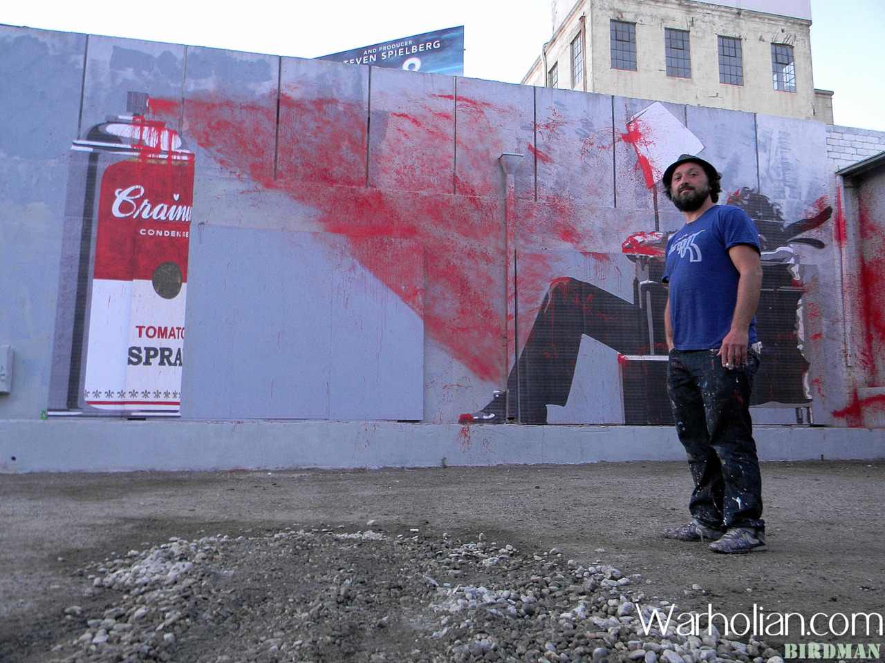 Mr. Brainwash recently opened his show in Los Angeles and Warholian's own Keisha Raines and Birdman Photos were there to document the event! Enjoy! http://warholian.com/2012/01/09/mr-brainwash/