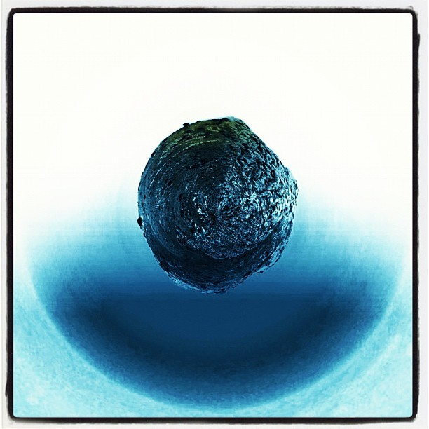 #tinyplanet in a #blue #round #environment (Taken with instagram)