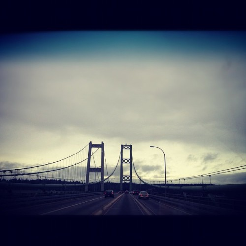 yshindo:#tacoma narrows bridge. #seattle  (Taken with instagram)