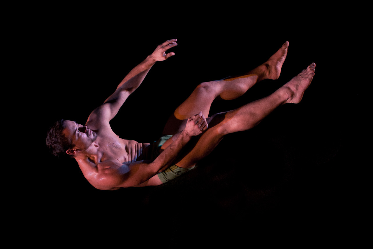 Dancer Paul White in Anatomy of an Afternoon at Sydney Opera House. It reminds me of a mix of something Luke Austin would shoot crossed with Bill Henson.
