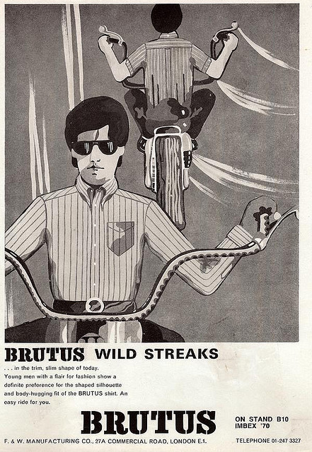 1960s and 1970s Brutus Trimfit Advertising