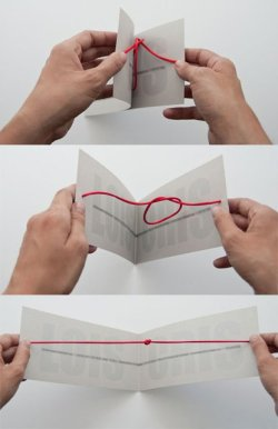 "airows:  ""Tying The Knot"" Wedding Invitation."