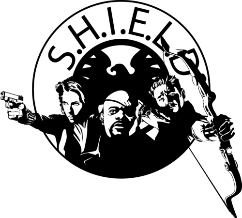 S.H.I.E.L.D by ~Mad42Sam http://www.redbubble.com/people/mad42sam/works/8315659-s-h-i-e-l-d - you can buy t-shirts with this picture here )