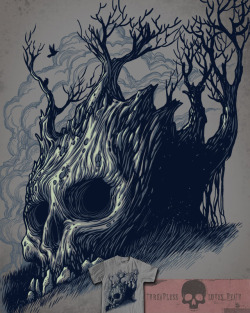 Threadless loves death! http://www.threadless.com/submission/393443/Dead_Tree