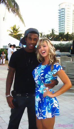 Look Who I Bumped Into On South Beach!! Jeremih! Very Talented Guy!
