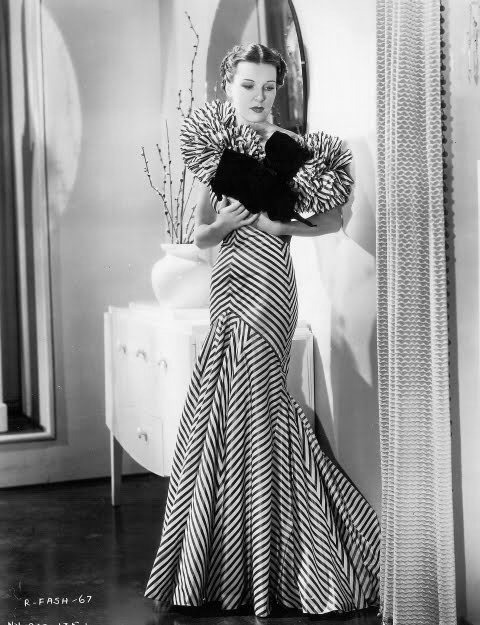 Dress worn in the movie Roberta starring Fred Astair and Ginger Rogers