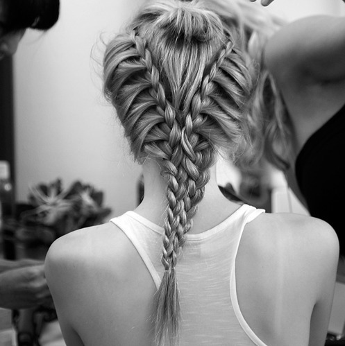 thats-the-price-of-beauuty:  I<3BRAIDS