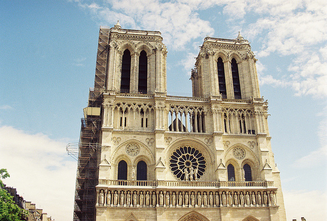 | ♕ |  April in Paris at Notre Dame   | by © Nick Pellegrino