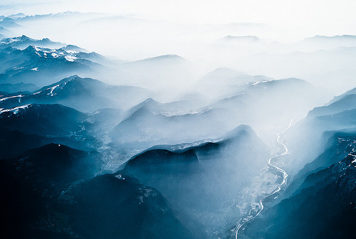 fleeckr:  Alps from Over Italy (by Chris Halford)