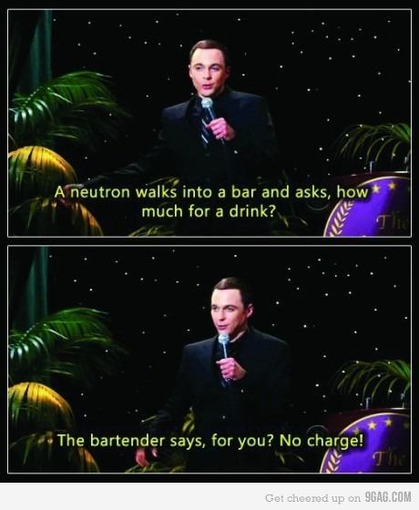 9gag:  Comedy level : Sheldon Cooper!
