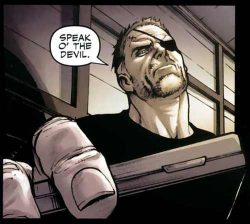 whittingtonb:  Poor Nick, he looks so tired…  Secret Warriors #6