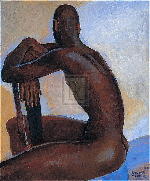 Nude Male II, Boscoe Holder, (1999) Norwich, Fall 2009: partly employed, quasipoor, uninhibited and curious, I made the phone call that would place me on the other side of the drawing board. It all happened quickly. One minute I was fully clothed and the next I was in a cold room in what used to be an old shoe factory – baring my soul, ass and pole for a two-digit Pound note, the red kind, fortunately. It wasn't about the money, though I confess it did come in handy replenishing the pleasure pantry – booze, art exhibits, gladiolas, artisan treats, the commute to London and with this the promise of East End merry making. In the dark room, I was brightly illuminated to enhance my pigmentation – the vast spectrum of ochre and terracotta visible in my skin. My audience, an art class, evidently, but not quite what I was expecting. Sprawled before me was a group of seniors, about twenty of them, Caucasian, all retired, veterans of all sorts – teachers, pilots, archaeologists and gardeners – with impressive histories but now sat before me with eyes peered through thick spectacles, awaiting my first pose. For two months I posed for this potpourri of remarkable characters, listening to their incredible anecdotes as I transitioned between poses – bending, twisting and raising my limbs to my own amazement.  At intervals, with my privates concealed, we gathered round the radiator to keep warm, chatting over Earl Grey and stale ginger snaps. When my time was up, I would be handed my remuneration, which often came with numerous offers for a ride home. I'd arrive home, aching and stiff-necked, marginally richer but enriched, content to be creating the anecdotes of an eventful life.