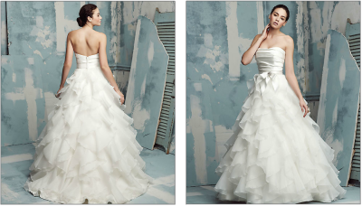 weddingobsessed:  Paloma Blanca - classic collection