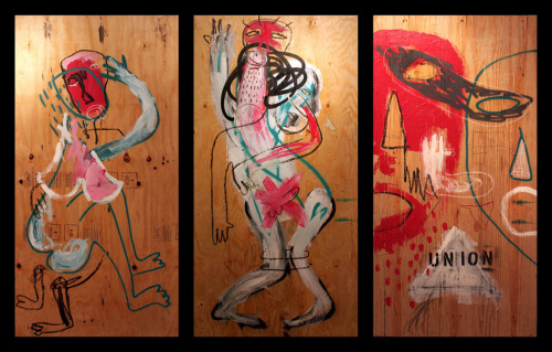 Come see the epic Lovers Triptych by Antonio Bokel at the 5th anniversary of Beleza at LPR this Saturday, and dance to the best Brazilian beats in NYC! More info at http://www.belezanyc.com/