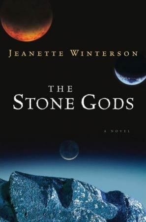 "The Stone Gods (2008) Jeanette Winterson On the airwaves, all the talk is of the new blue planet—pristine and plentiful, as our own was 65 million years ago, before we took it to the edge of destruction. Off the air, Billie Crusoe and the renegade Robo Sapien Spike are falling in love. Along with Captain Handsome and Pink, they're assigned to colonize the new blue planet. But when a technical maneuver intended to make it habitable backfires, Billie and Spike's flight to the future becomes a surprising return to the distant past, and they discover that ""everything is imprinted forever with what once was."""